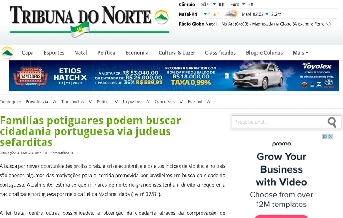Martins Castro na Mídia 2