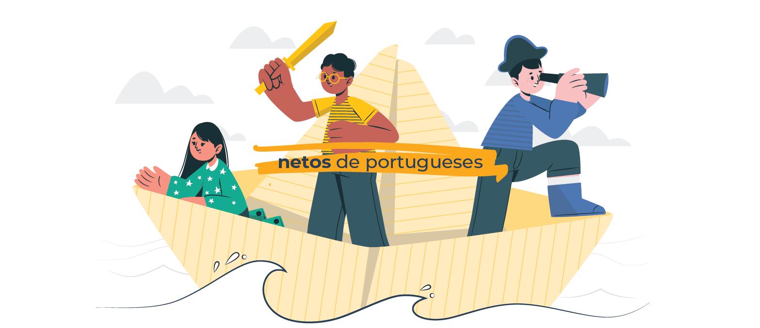 Como conquistar a cidadania portuguesa para netos